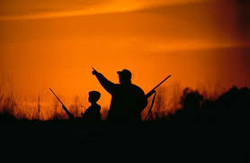 hunting silhouette